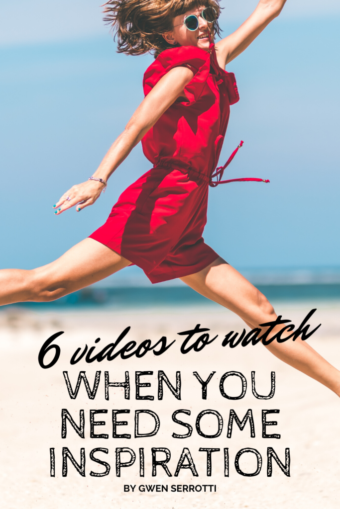 6 Videos to Watch When You Need Some Inspiration